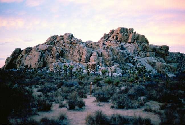 Echo Cove rocks, frontside....