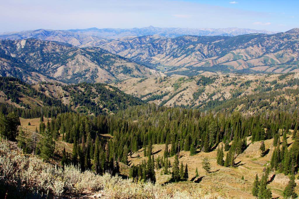 Elk Mountain - view NE