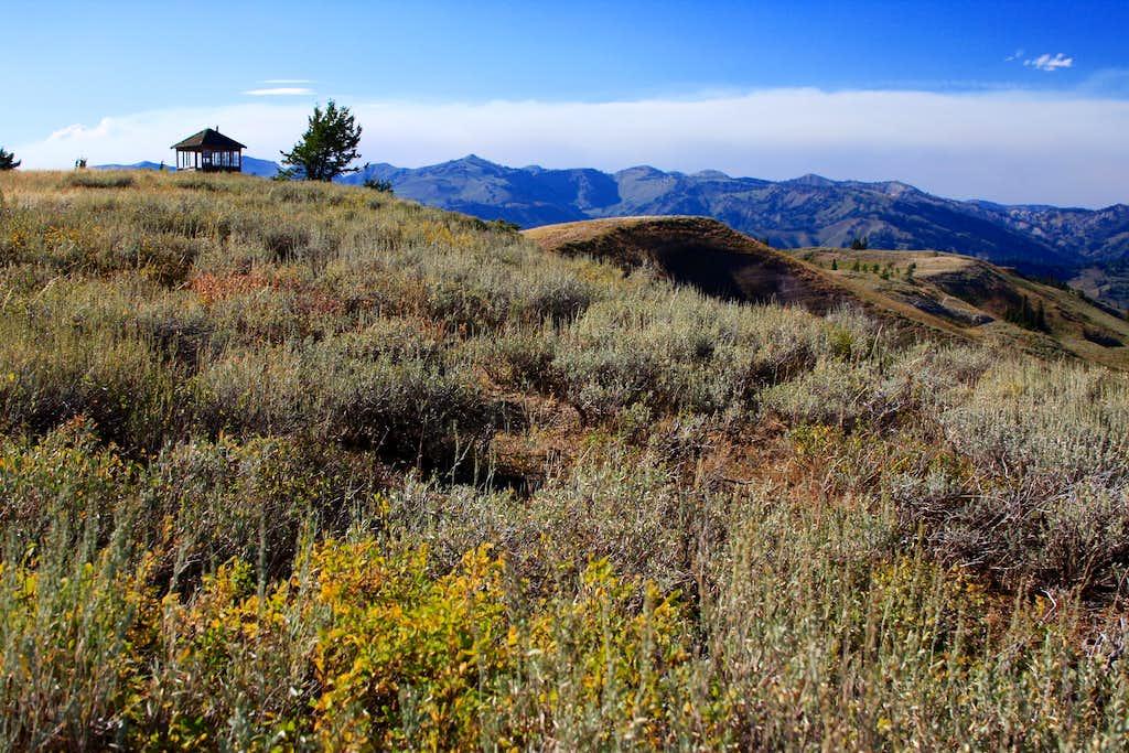 Elk Mountain - view NW