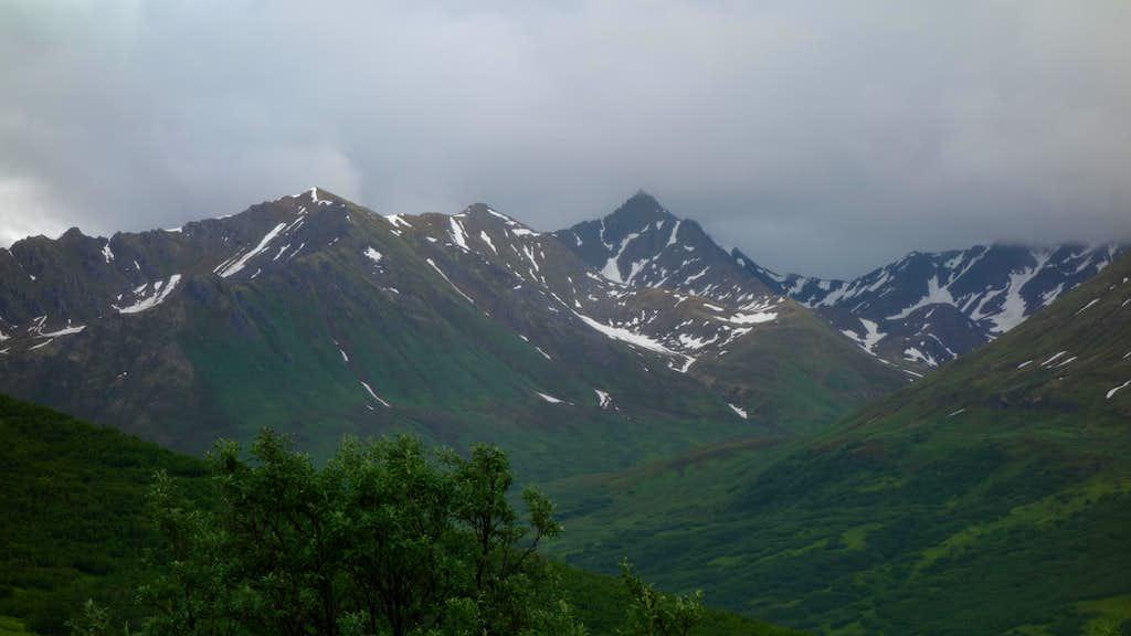 Hatcher Pass Road Views
