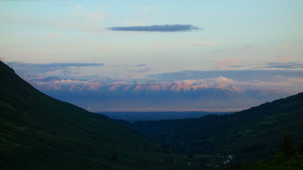 Mat-Su Valley from Hatcher Pass Road