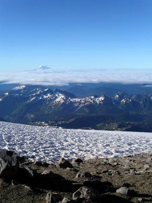 Mt. Adams from camp muir
