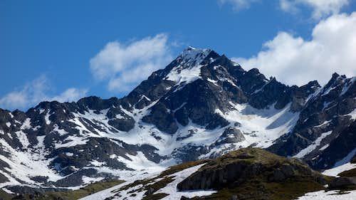 First view of Lynx Peak