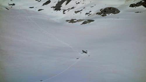 Lynx Peak Summit Views of Bomber crash
