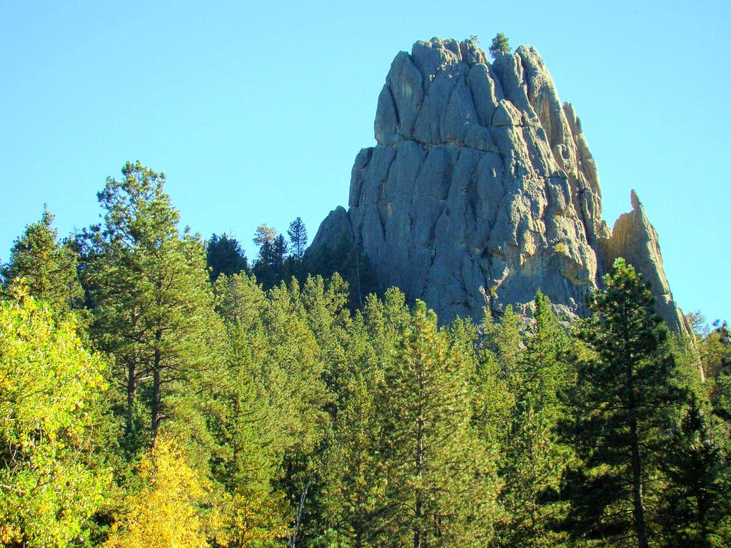 Granite Tower at Horsethief Lake