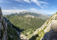 Saddle View to Puig Major and Puig de Massanella