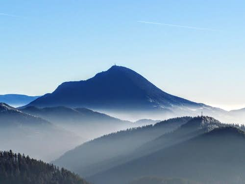 Urslja gora - view from Petzen