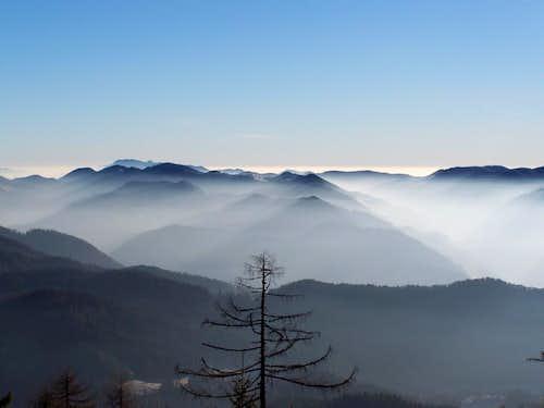 Hills near Velenje...