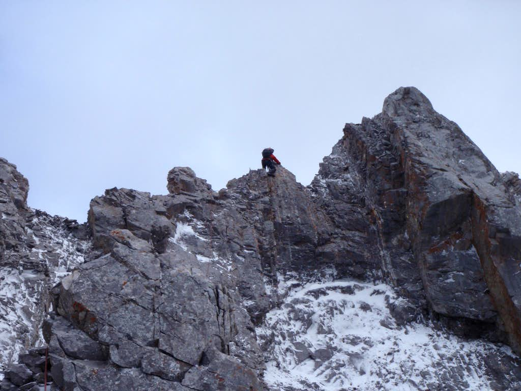 Descending towers