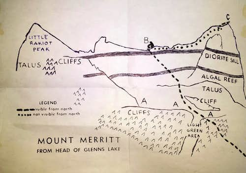 J. Gordon Edwards Mokowanis Lake Route Diagram