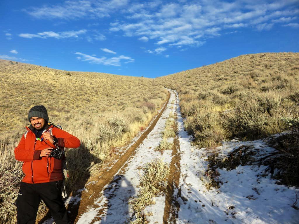 Descending Cottontail Mountain