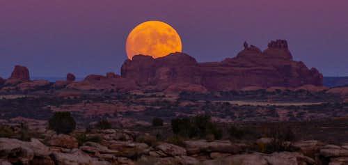 Arches National Park Moonrise