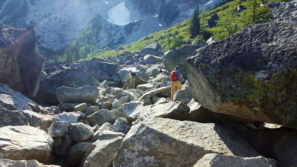 Colchuck Lake Boulders