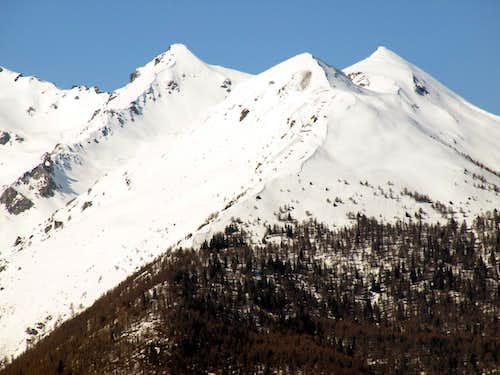 Clusellaz Valley ... Trio Mont d' Arsy Chaligne Met 2016