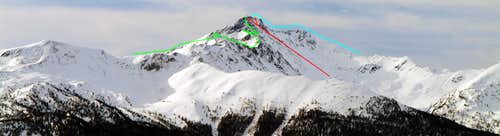 Mont Fallère Northern Slope & Integral Traverse 2016