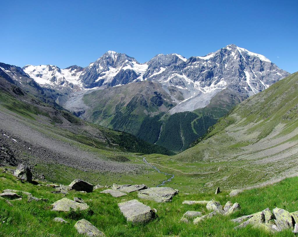 Zaytal and Ortler group wall