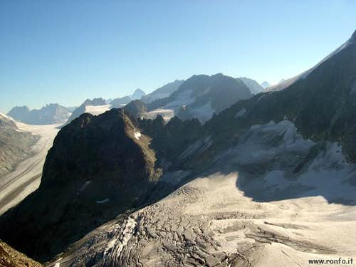 View from the Col de...