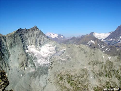 The Mont Gelé (3519 m) from...