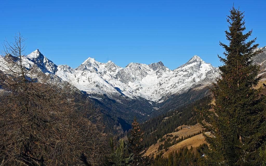 The mountains above Debanttal
