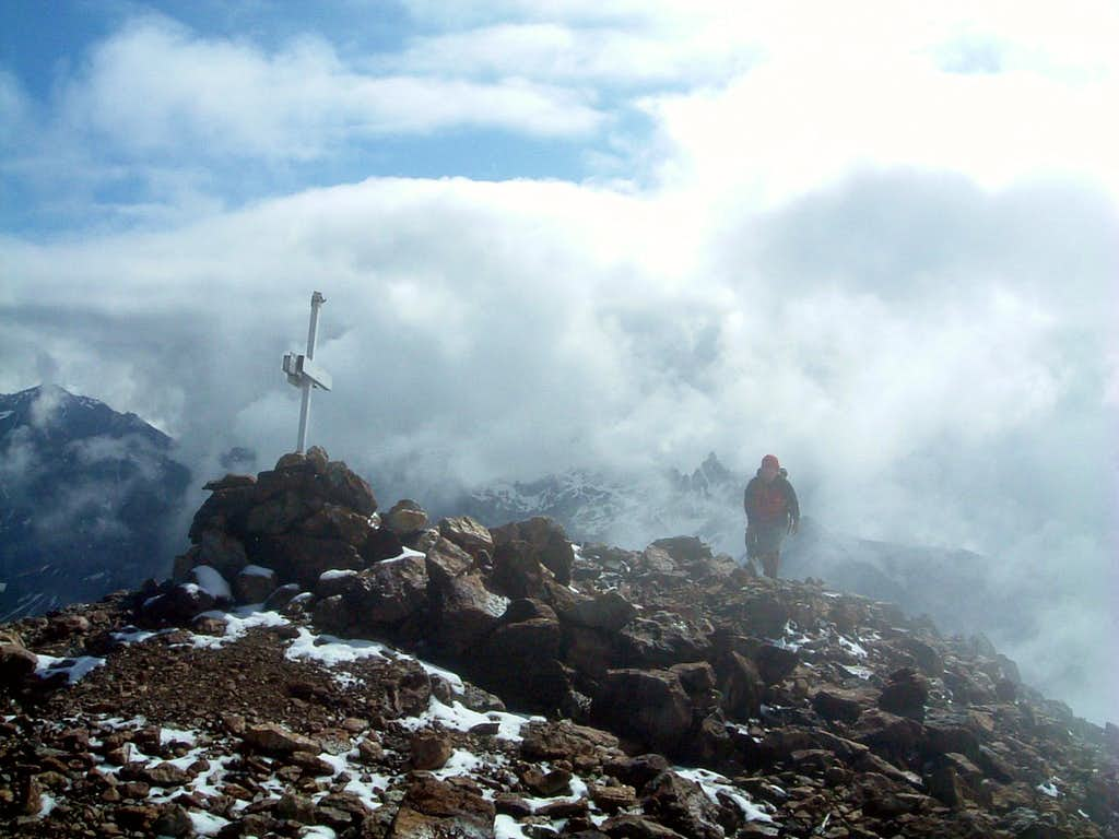 Summit of Becca di Luseney