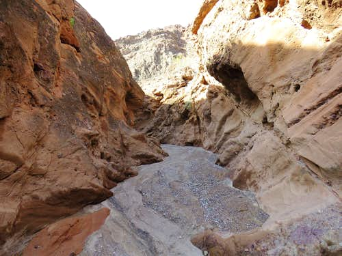 Tight Canyon near Lake Havasu