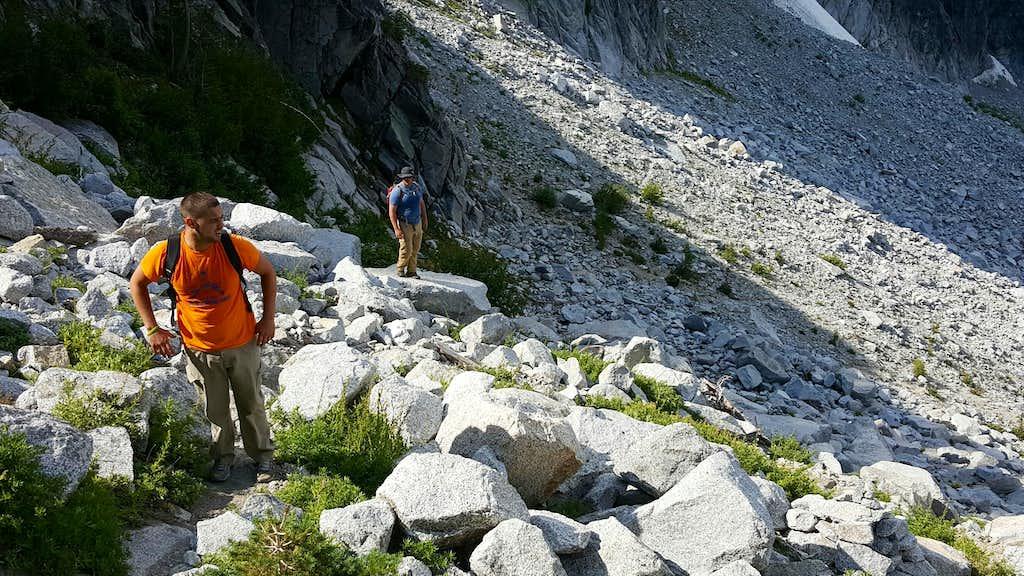 Heading Towards Aasgard Pass