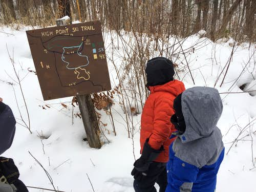 Ski and Snowmobile Trail Map