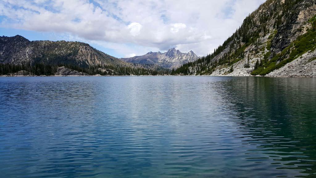 Colchuck Lake and Cashmere Mountain