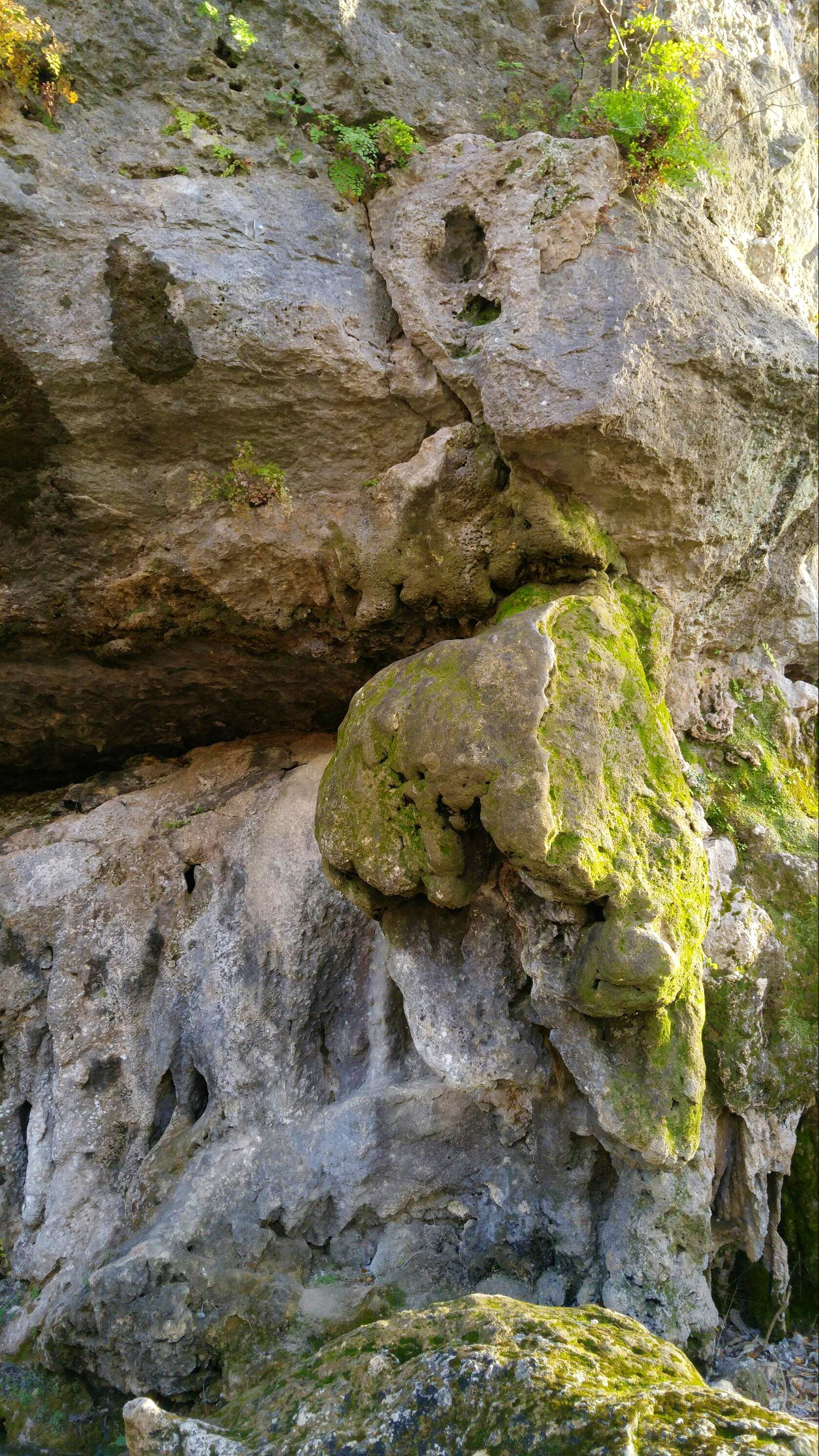 Landfill Wall (The Dark Side), 5.8-5.12c