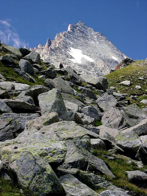 Herbetet from the trail to Leonessa bivouac
