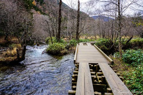 Myojin - Kappa Bashi Trail (West-shore)