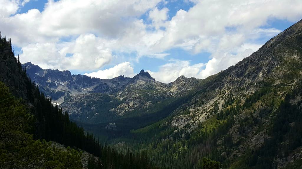 Views on the Trail to Colchuck Lake