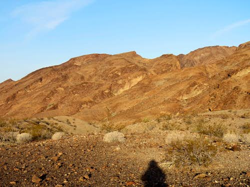 First view of Dead Burro Canyon