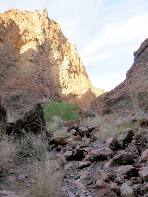 Inside Dead Burro Canyon