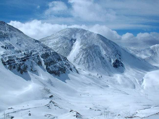 Mount Sheridan from the...