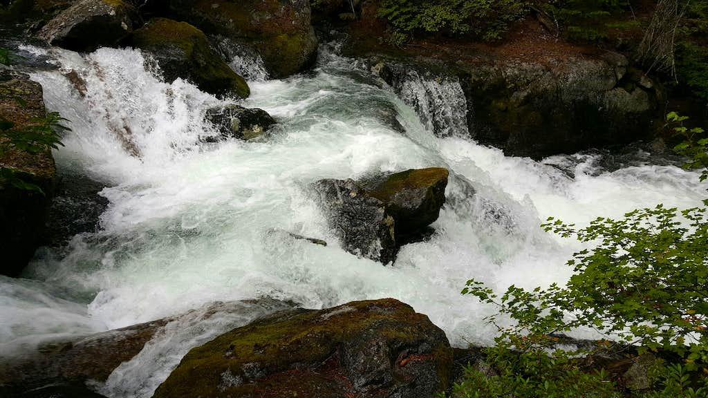 Cascades Along Snow Creek