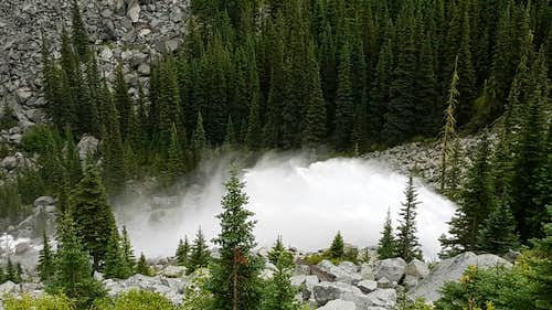 Snow Lake Spillway