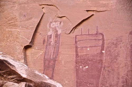 More pictographs