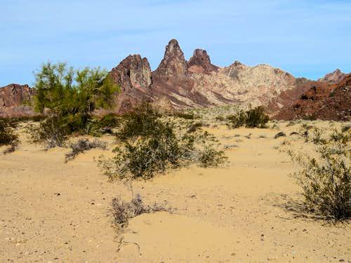 Topock Gorge Sand Dunes