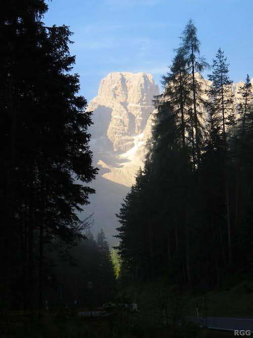 Monte Cristallo (3221m)