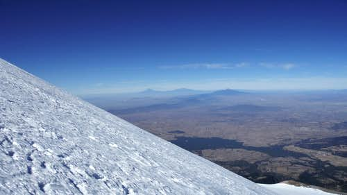 Glacier on Pico de Orizaba Dec 2016
