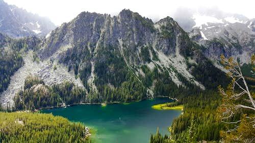 Lake Stuart and Mountaineer Ridge