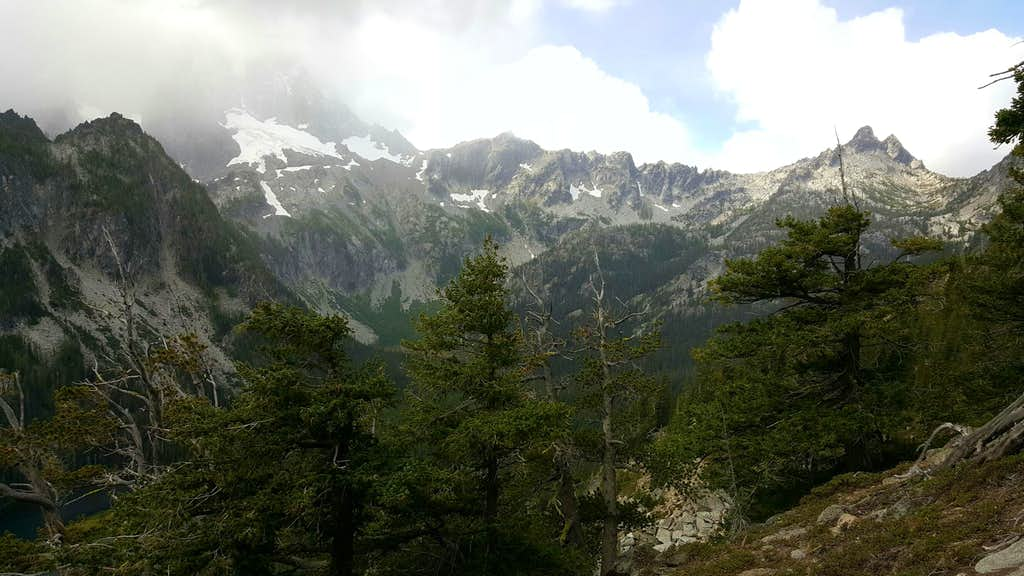 Views on the Ascent of Axis Peak