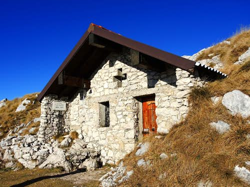 Small chapel on the summit of Pizzocolo