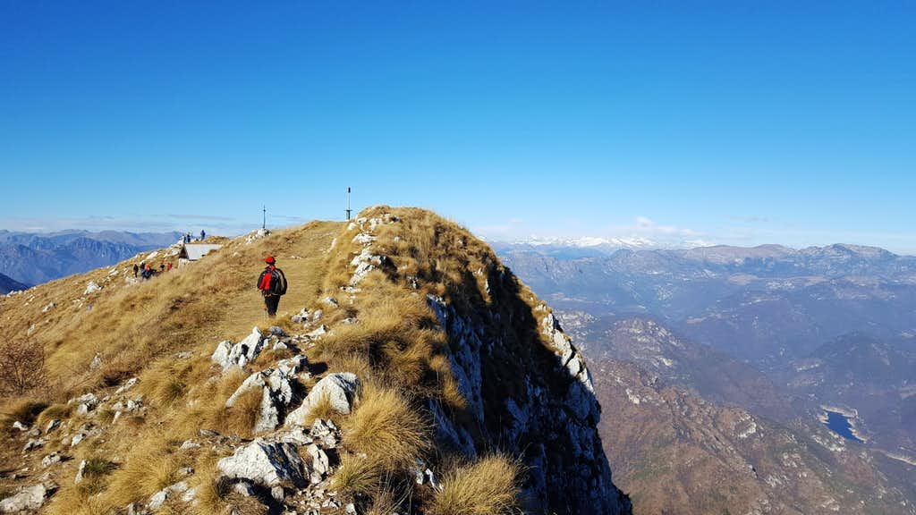 Summit of Pizzocolo