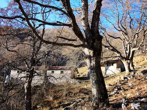 Malga Valle along Pizzocolo descent route