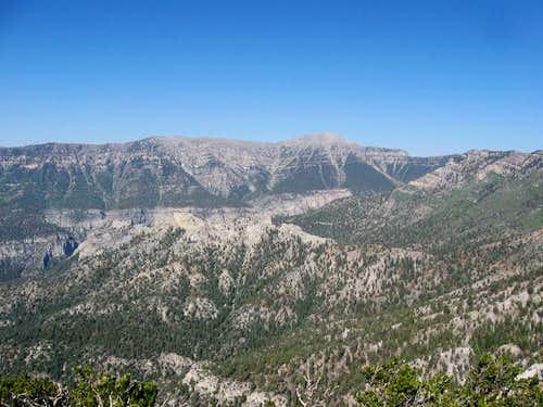 Cockscomb Ridge & Charleston Peak