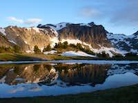 Gilbert Peak from Warm Lake