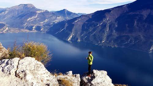Cima Larici summit view