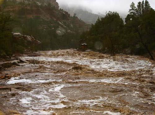 Oak Creek flash flood